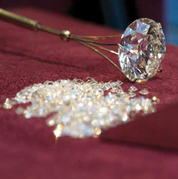 More than 50 percent of the world's polished diamonds and 80 percent of rough are traded in Antwerp.