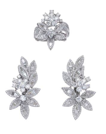 Diamond jewellery by Mahallati.
