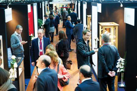 The fourth ADTF attracted more than 500 buyers, who came to see the diamonds presented by 83 Antwerp-based exhibitors