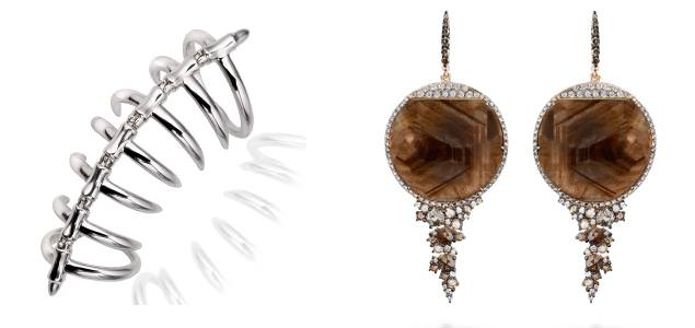 Ring by Stephen Webster & Earrings by Brusi (About J)